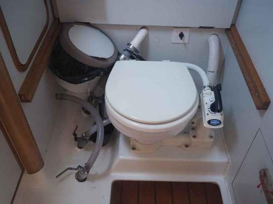 WC de salle de bain arrière de Manwë