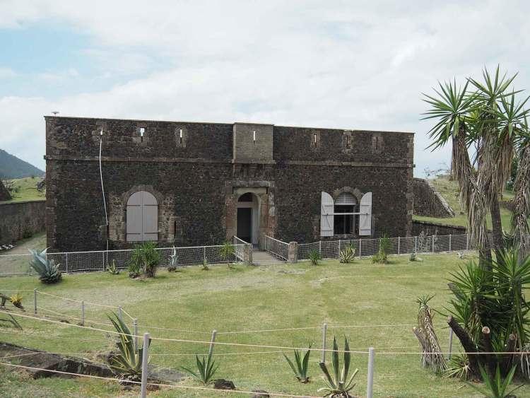 Le Fort Napoléon sur l'île de Terre de Haut aux Saintes.