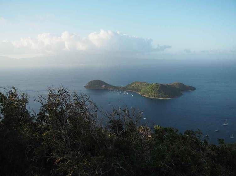 L'îlet Cabrit aux Saintes.