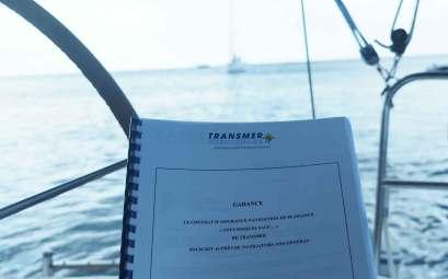 Notre contrat d'assurance Transmer pour notre tour du monde en voilier.