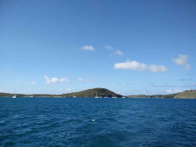 L'île de Green Island sur la côte est d'Antigua.