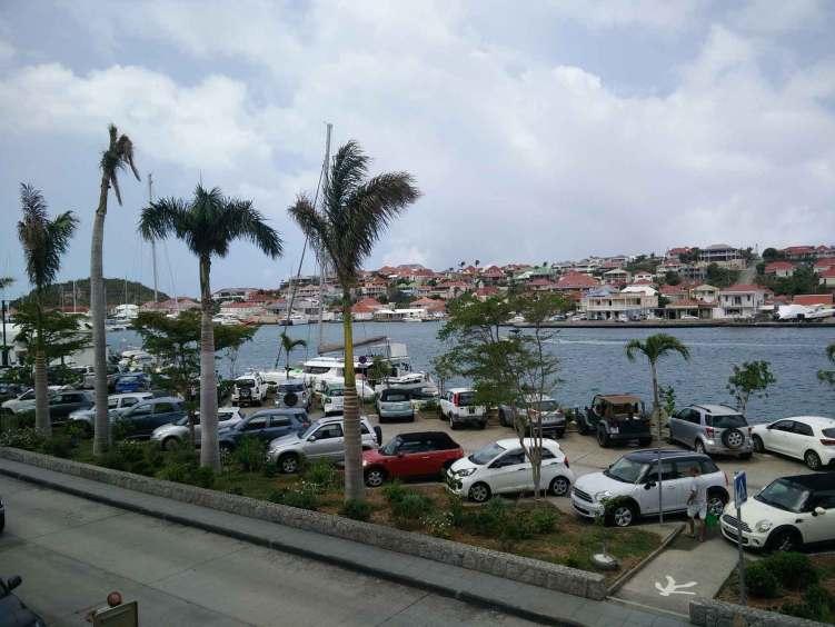Port de Gustavia sur l'île de Saint Barth.