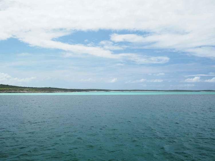 Mouillage de Little Harbour à l'est de Long Island, aux Bahamas.