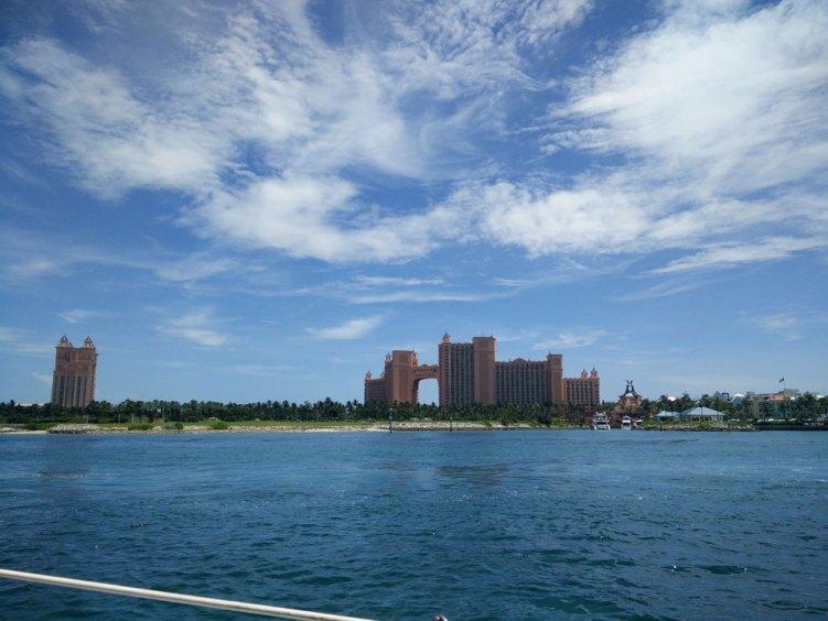 Le resort Atlantis sur l'île de Paradise Island aux Bahamas.