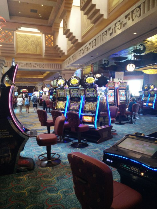 Casino du resort Atlantis sur Paradise Island aux Bahamas.