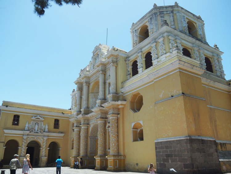 Eglise de La Merced à Antigua Guatemala.