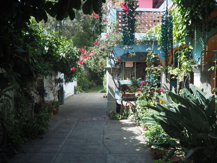 El Jardin de Lolita, la posada où nous avons logé à Antigua Guatemala.