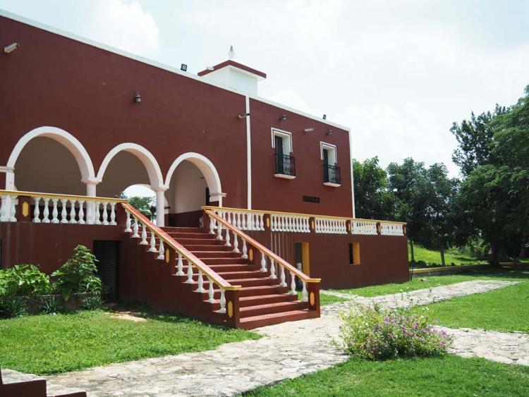 Hacienda San Lorenzo Oxman, proche de Valladolid, au Mexique.
