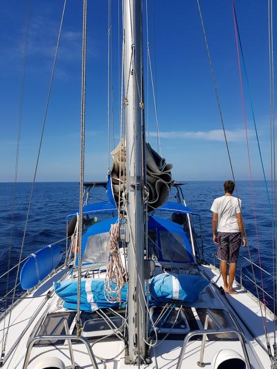 Navigation au calme au Bélize.