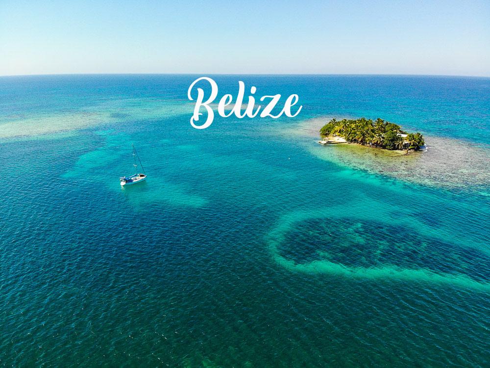 Destination Bélize en Amérique centrale.