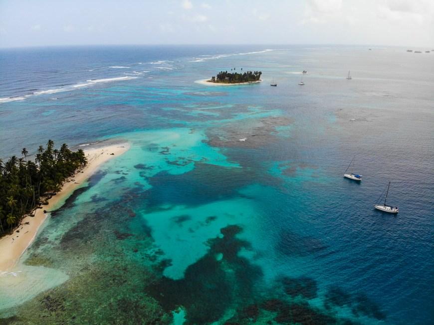 Essai du drone MavicAir au Panama.