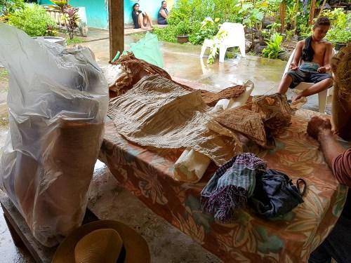 Tapas créés à Omoa, la spécialité artisanale du village.