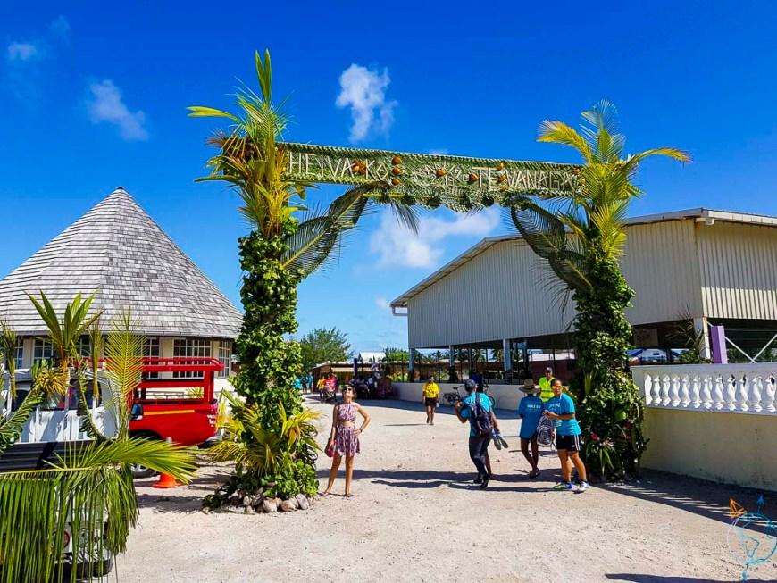 Heiva festival 2019 de la commune de Makemo aux Tuamotu.
