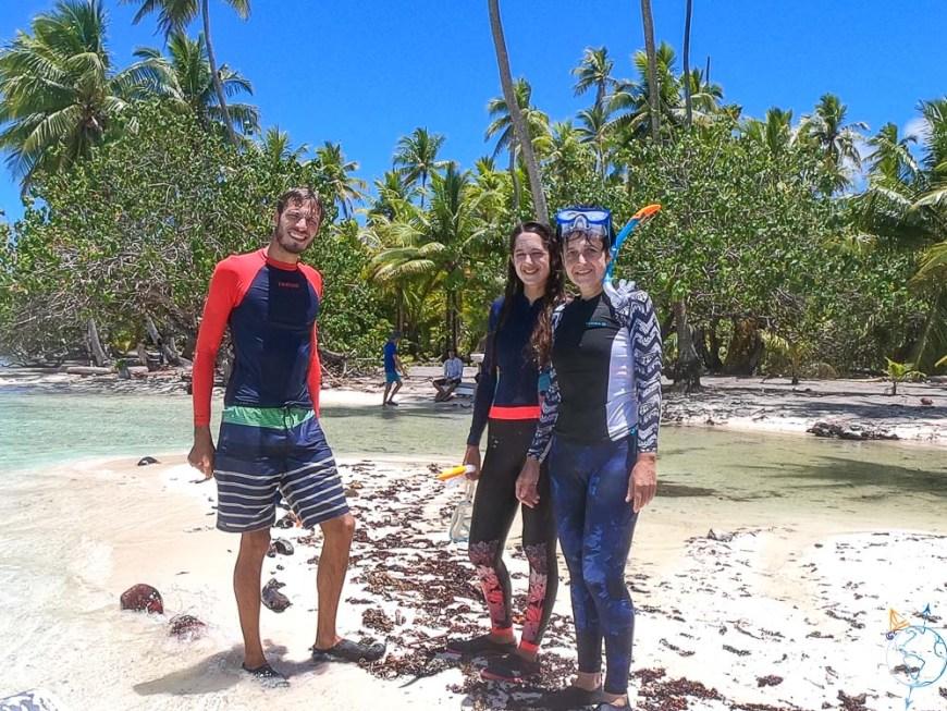Tenue de snorkeling sous les Tropiques.
