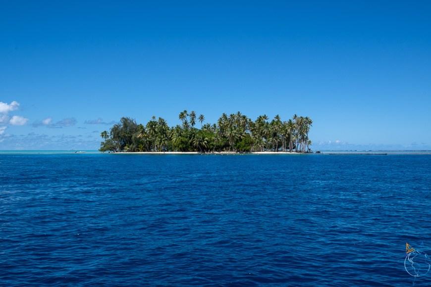 Motu Ceran, à l'est de l'île de Taha'a.