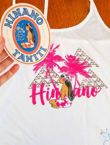 Logo de la marque de bière Hinano.