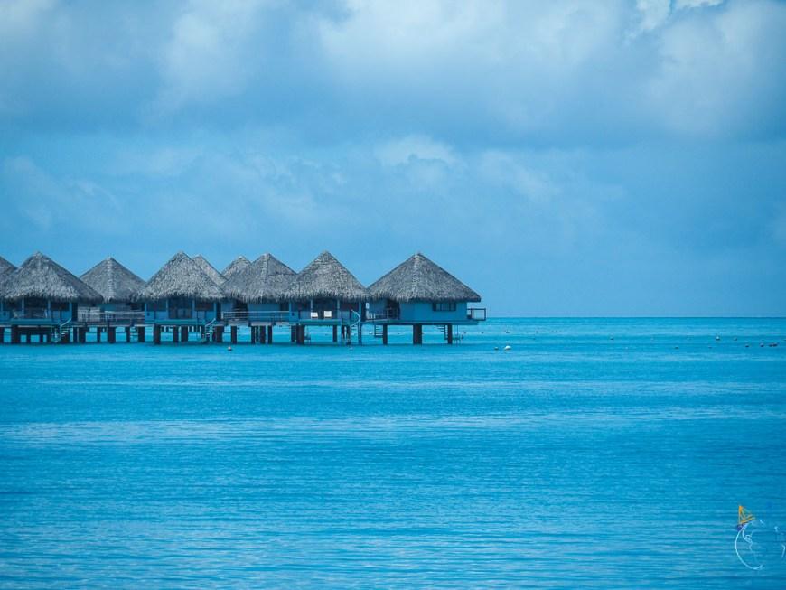 Le plus vieil hôtel de Bora Bora, le Méridien.