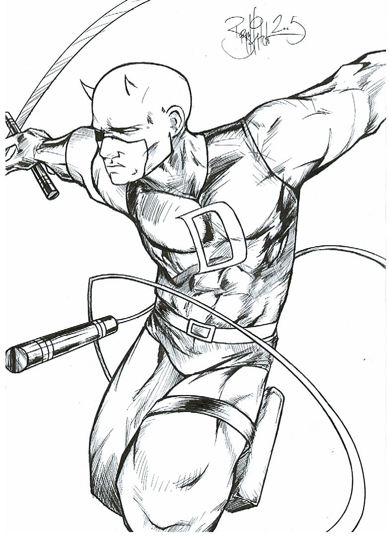 Daredevil: The Man Without Fear :: Fan Art :: BryanHitchen2