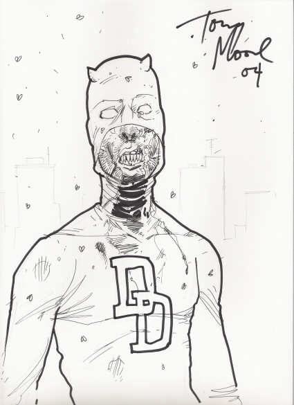 Daredevil: The Man Without Fear :: Sketches :: Borelli_Moore