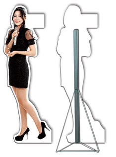 Human Standee  Cut Out Display  DISPLAY SYSTEM SUPPLIER  POP UP EXHIBITION SUPPLY  BROCHURE