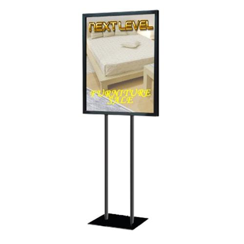 signage stand menu holder