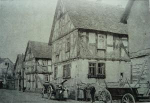 Henß Haus Ende 19Jht (Henß Home late 1800s)