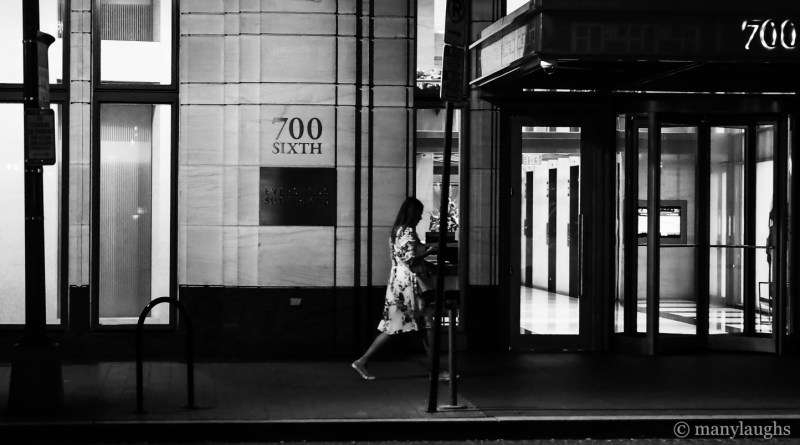 Striding by 700 Sixth