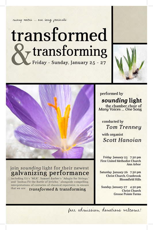 transformed & transforming Poster