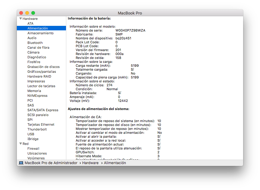 venta macbook pro 15 mid 2010 i5 24 ghz ssd 250 gb 8 gb