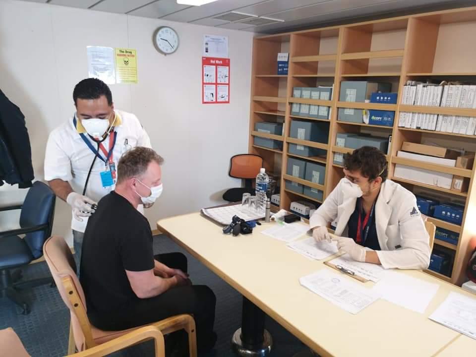 Atiende y controla Salud Colima 2 casos de influenza en buque