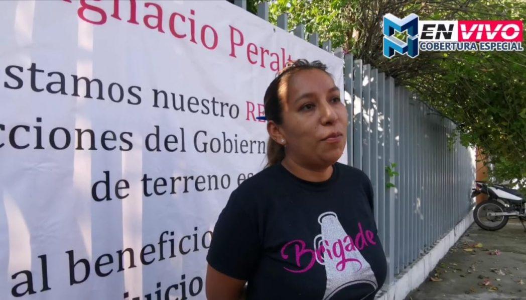 Piden a AMLO que revise corrupción estatal en venta del terreno de secundaria en Manzanillo