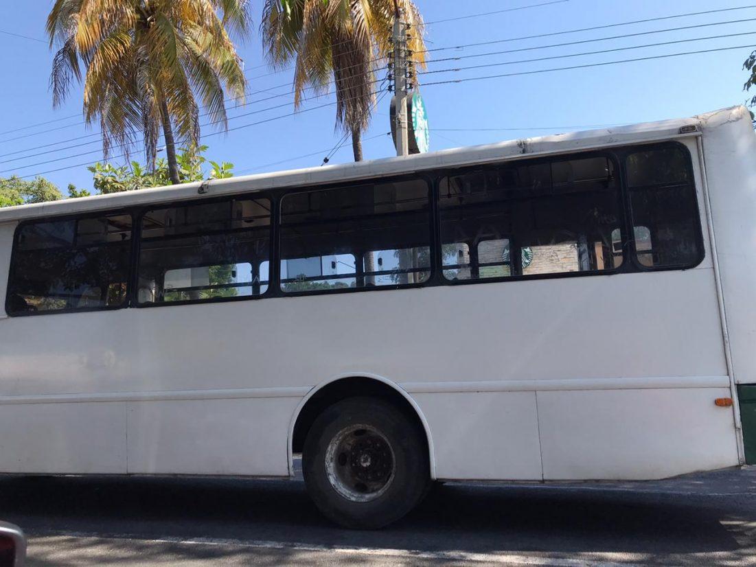 Servicio de transporte público operará con ajustes de unidades en algunos horarios
