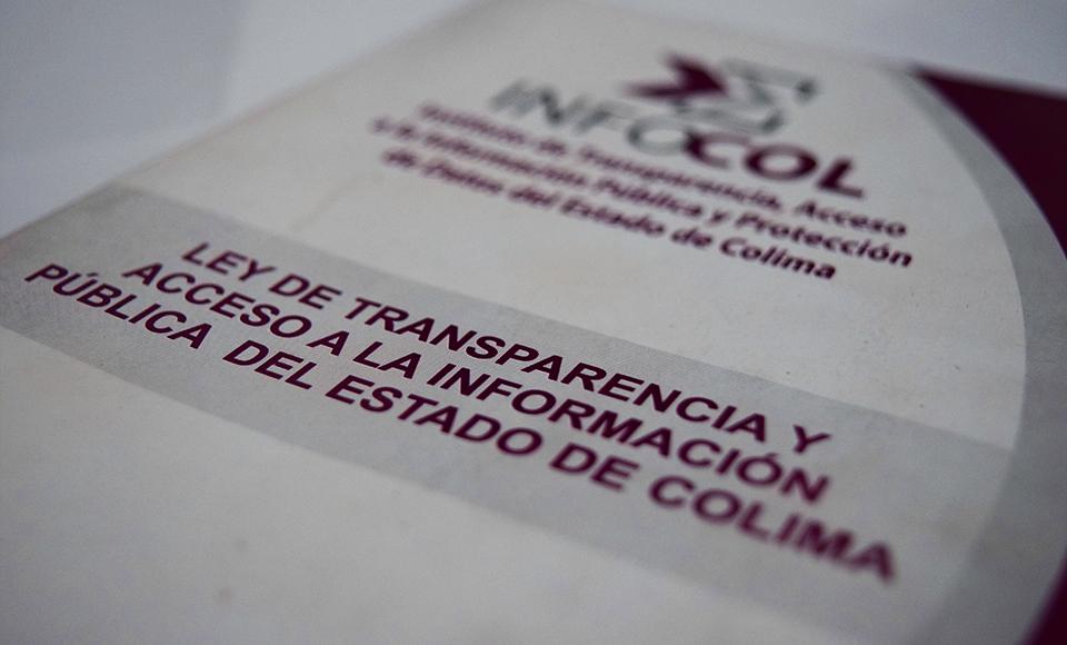 INFOCOL en contra de la desaparición de organismos de transparencia