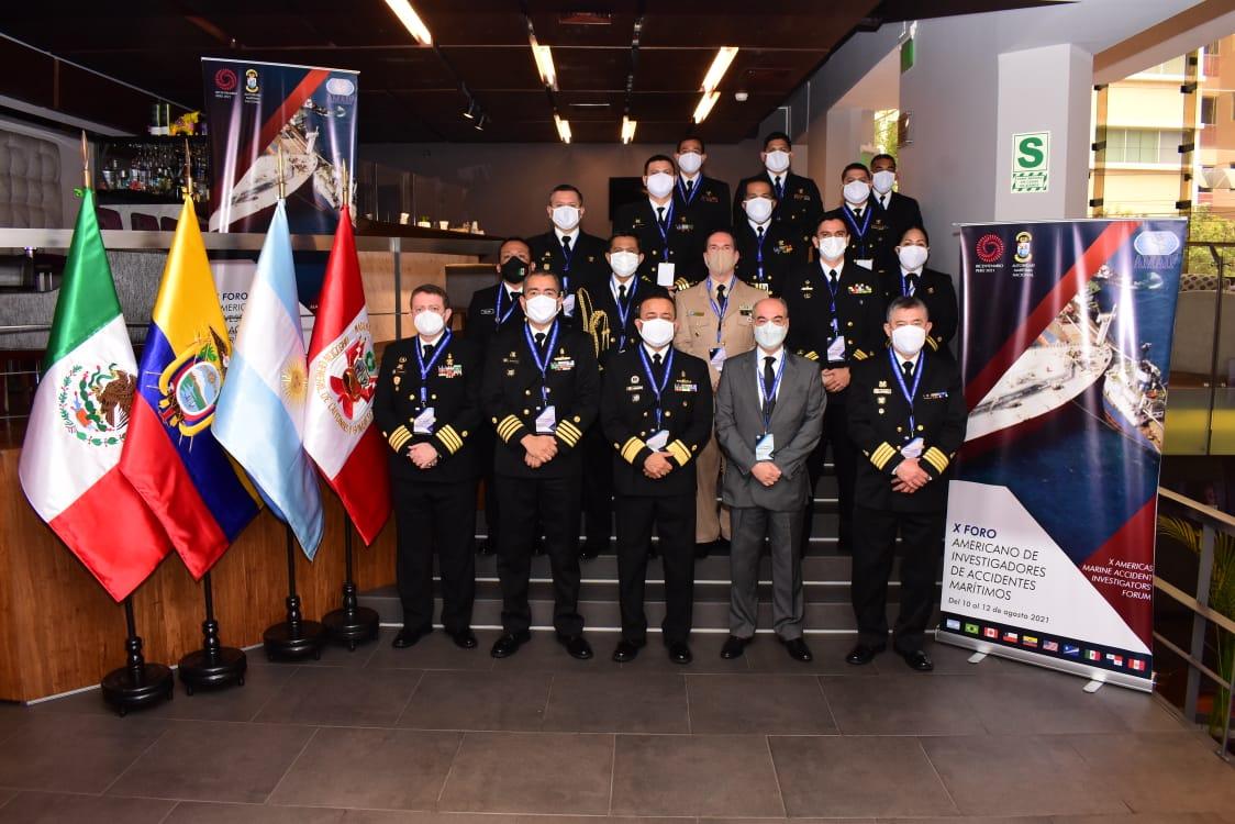 """La Secretaría de Marina participa en el """"X Foro Americano de Investigadores de Accidentes Marítimos""""(AMAIF)"""