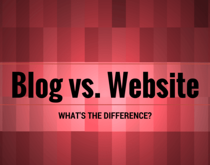 blog website difference