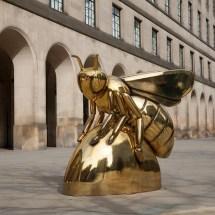modern art stainless steel honey