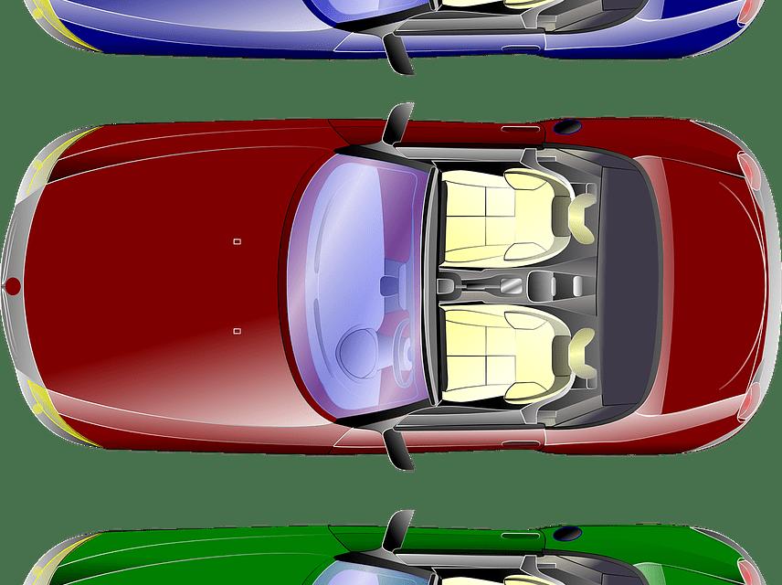Cores de um carro. Três passos para escolher a melhor!