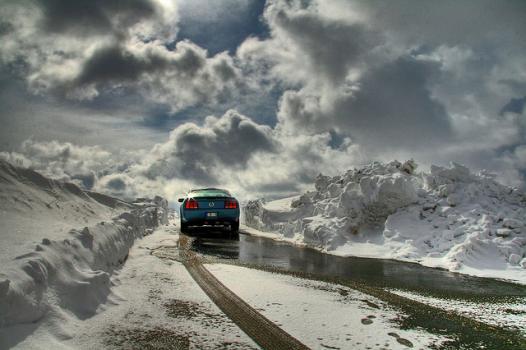 bateria de carro no frio