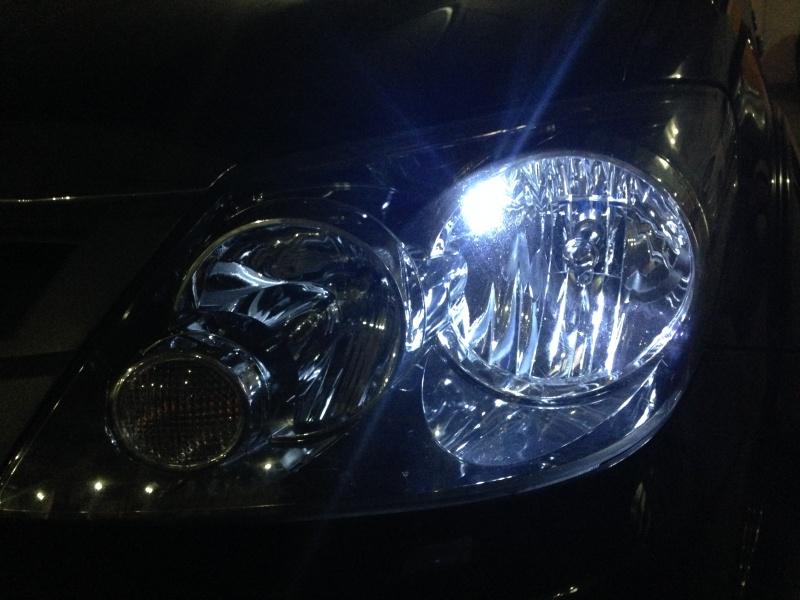Luz de estacionamento (faroletes) são as que acendem mais fracas no farol