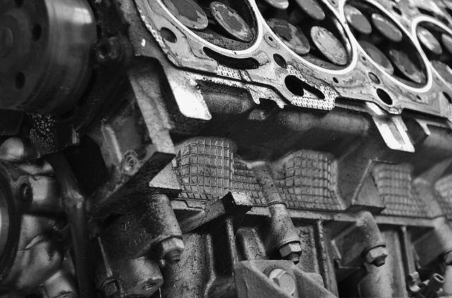 Motor de carro – Motor longitudinal