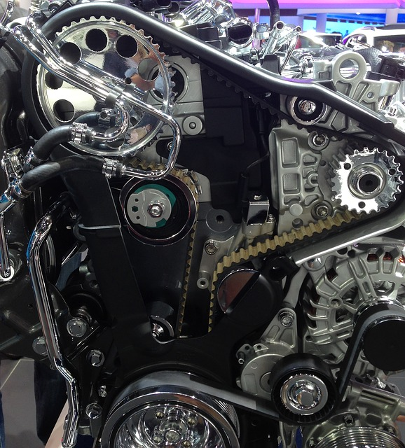 Motor de carro - Motor longitudinal