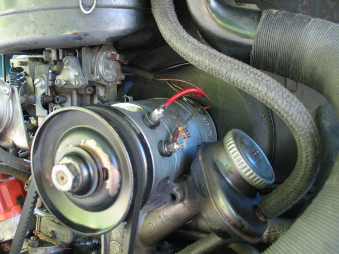Hqdefault in addition Alternatornotchargingvw in addition Gerador De Fusca further Maxresdefault together with C Be F. on vw generator wiring diagram