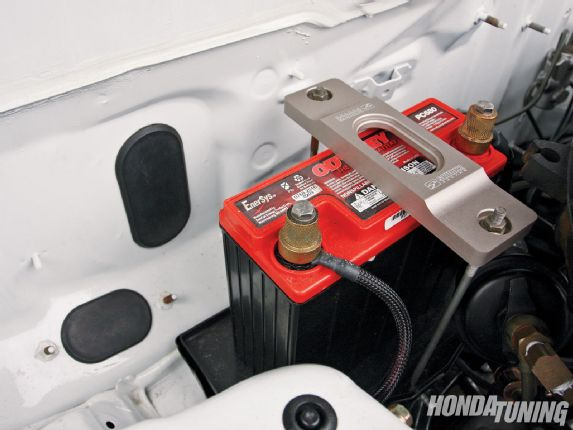 Qual é a bateria do Honda Civic?
