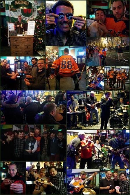 Maovember 2015 Paddy O'Shea's Closing Party