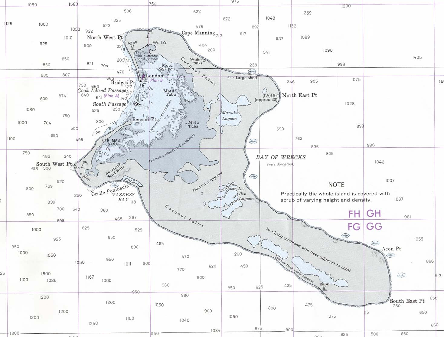 Maps Of Kiribati