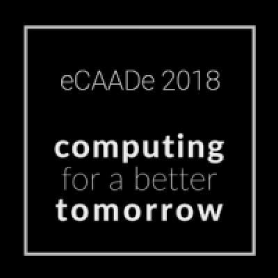 Participation à la conférence eCAADe 2018