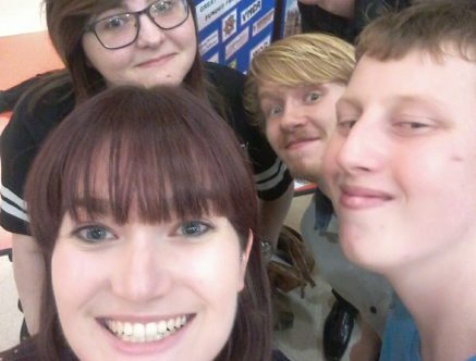 Great Yarmouth YAB loves a selfie!