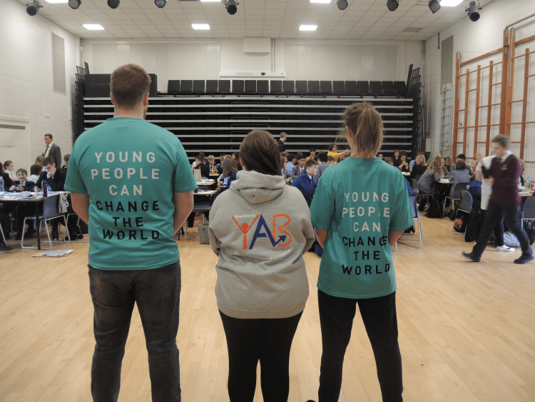 Breckland YAB with the Diana Award Trust delivering anti-bullying ambassador training
