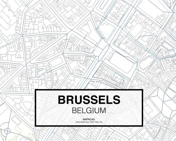Brussels-Belgium-03-Mapacad-download-map-cad-dwg-dxf-autocad-free-2d-3d