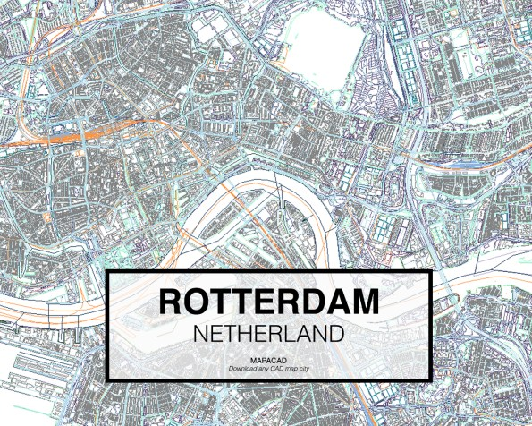 Rotterdam-Netherland-02-Mapacad-download-map-cad-dwg-dxf-autocad-free-2d-3d